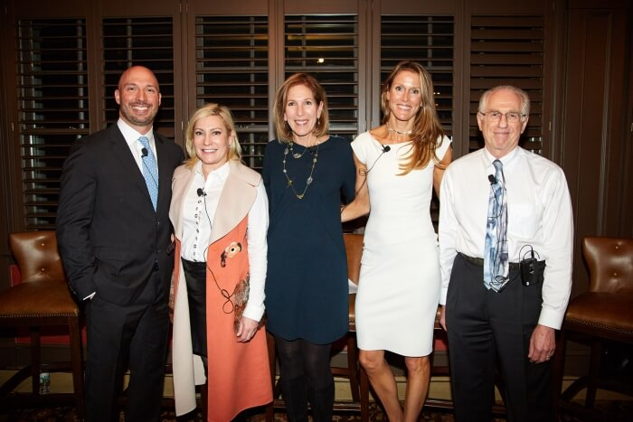 IMG 7080 Dr. Jeff Puglisi Dr. Sharon Giese Michele Graham Amy Lewis Dr. Saul Rothenberg - Glenville Medical physicians participate in LOOK health event